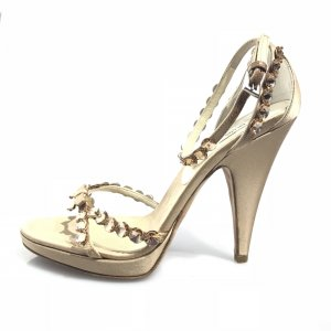 Bronze Prada High Heel