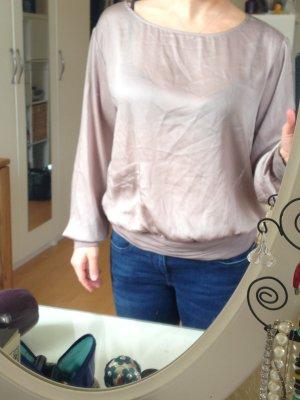 Bronzefarbene leicht fallende Bluse