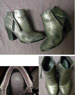 Pimkie Bottillons bronze-gris foncé faux cuir