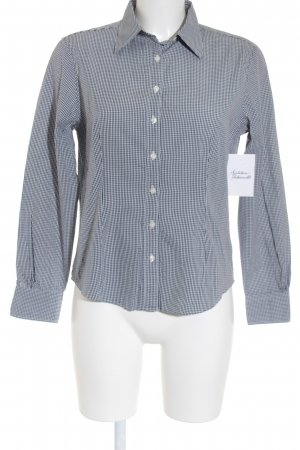 Brooks Brothers Long Sleeve Shirt dark blue-white check pattern casual look