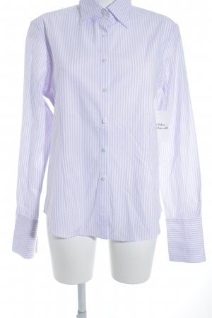 Brooks Brothers Long Sleeve Shirt lilac-white striped pattern business style