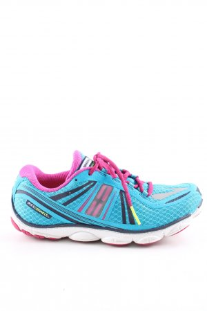 Brooks Lace-Up Sneaker multicolored athletic style