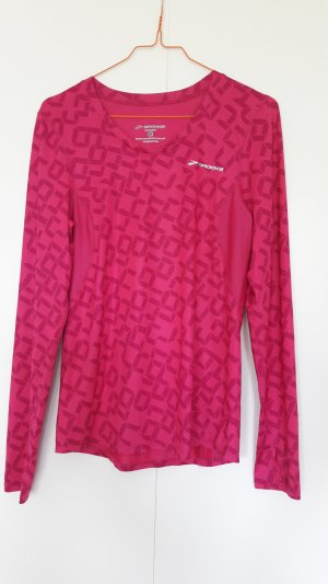 Brooks Sport Shirt Equilibrium langarm pink Gr. M