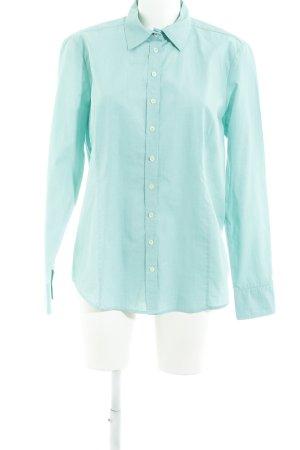 Brookshire Shirt Blouse turquoise business style