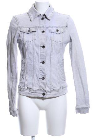 Brookshire Denim Jacket white casual look