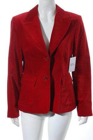 Brookshire Long-Blazer rot Eleganz-Look