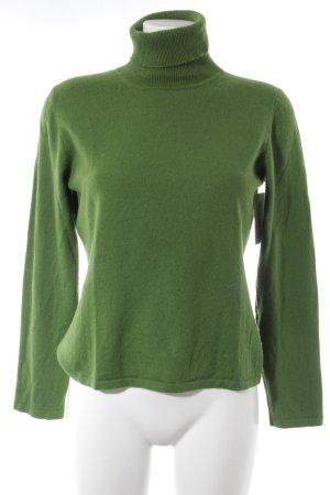 Brookshire Rollkragenpullover grün Casual-Look