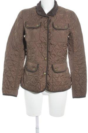 Brookshire Between-Seasons Jacket brown-dark brown classic style