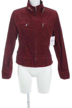 Brookshire Between-Seasons Jacket dark red casual look