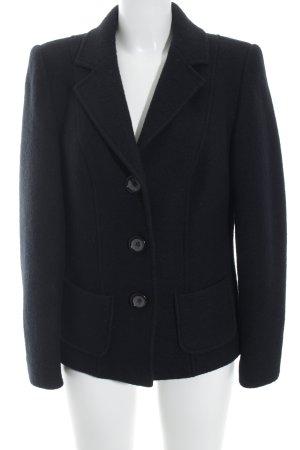 Brookshire Wollmantel schwarz klassischer Stil