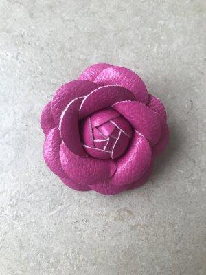 Broche rosa