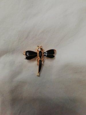 Brosche Brooch Insekt Libelle Vintage