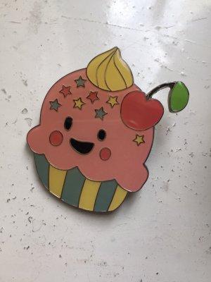 Brosche Cupcake rosa kawaii Lazy Oaf