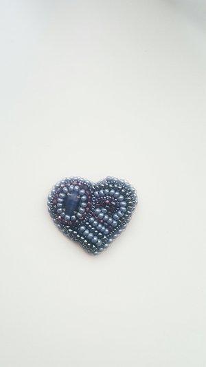 Brosche Herz