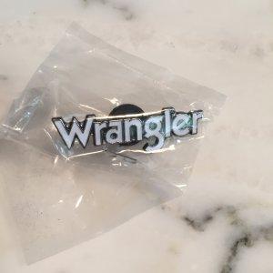 Brosche / Pin von Wrangler NEU