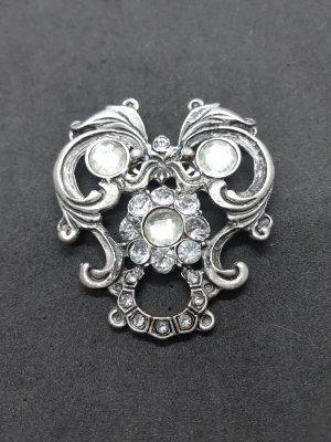 Brosche Silber