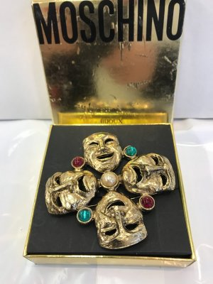 Moschino Brooch gold-colored