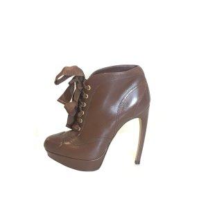 Alexander McQueen High Boots brown