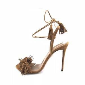 Brown  Aquazzura  High Heel