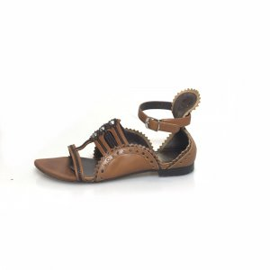 Brown  Balenciaga Sandal