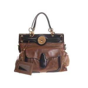 Balenciaga Bolsa de hombro marrón