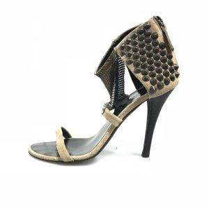 Brown  Balmain High Heel