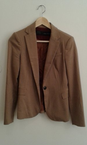 Brown blazer Zara Basic