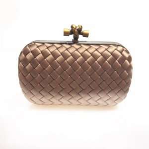 Brown  Bottega Veneta Clutch