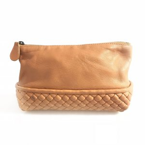 Brown  Bottega Veneta MakeUp Bag