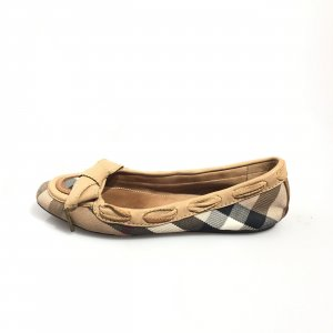 Brown  Burberry Flat