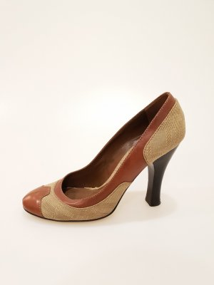 Burberry High-Heeled Sandals brown