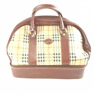 Brown  Burberry Luggage