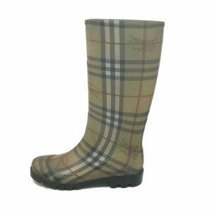 Brown  Burberry Rain & Snow Boot