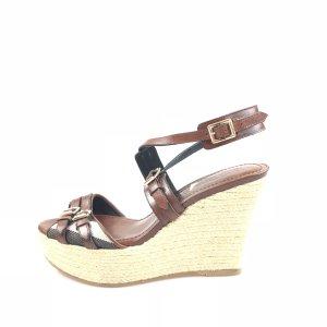 Brown  Burberry Sandal
