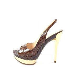 Casadei High-Heeled Sandals brown