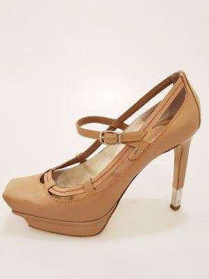 Celine High-Heeled Sandals brown