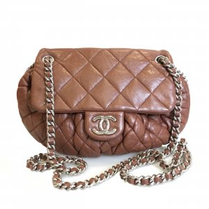 Brown  Chanel Cross Body Bag