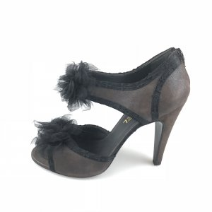 Brown  Chanel High Heel