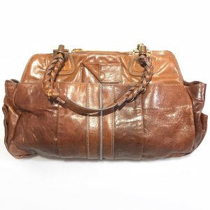 Brown  Chloe Shoulder Bag