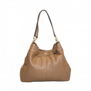 Brown  Coach Shoulder Bag