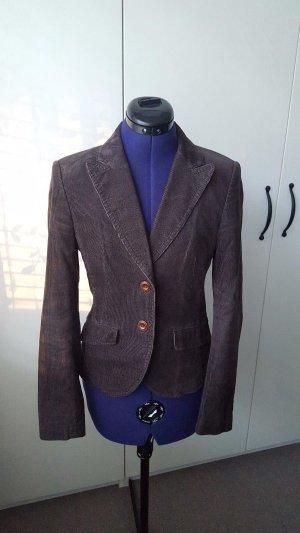 Brown Esprit blazer jacket for women, 34 size, very good condition.