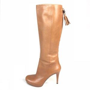 Gucci Hoge laarzen roodbruin