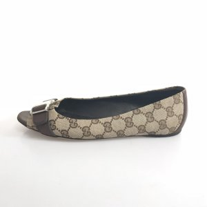 Brown  Gucci Flat