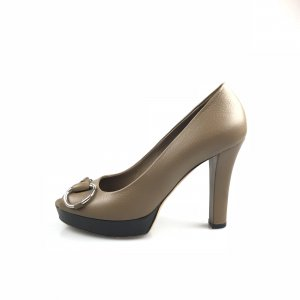 Brown  Gucci High Heel