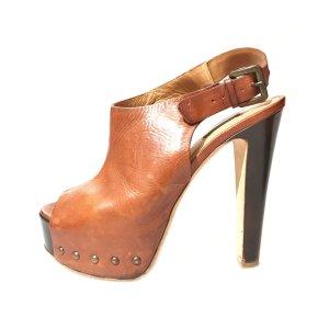 Kurt Geiger High-Heeled Sandals brown red