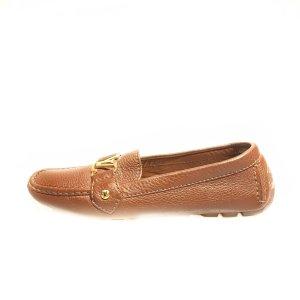 Brown  Louis Vuitton Flat