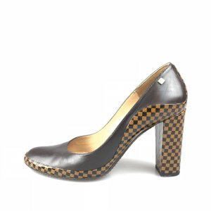 Brown  Louis Vuitton High Heel