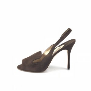 Brown  Manolo Blahnik High Heel