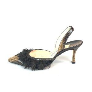 Brown  Manolo Blahnik High Heel