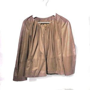 Brown  Max Mara Leather Jacket